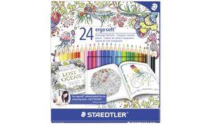 STAEDTLER kleurpotlood ergosoft,Johanna Basford Edition