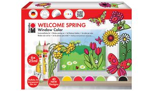 Marabu Window Color fun & fancy Set bestaat uit: 6 x 25 ml Windo