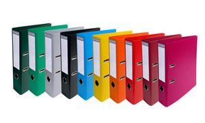 EXACOMPTA PVC-Ordner Premium, DIaus PVC, 2-Ringe, Hebelmechanik,