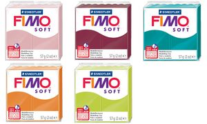 "FIMO SOFT Modelliermasse, ofenh""""fenh""rtend in 30 Minuten bei 11"