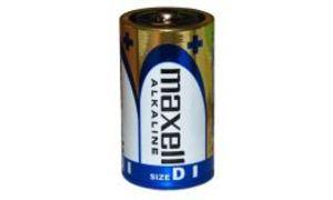 maxell Alkaline Batterie, Mono D1,5 Volt, Typ: LR20, Folienverpa