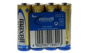 maxell Alkaline Batterie, Mignon1,5 Volt, Typ: LR6, Folienverpac