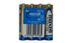 maxell Alkaline Batterie, Micro 1,5 Volt, Typ: LR03, Folienverpa