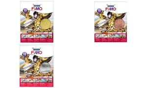 FIMO Blattmetall, gold, 10 Blattauf vielen verschiedenen Untergr