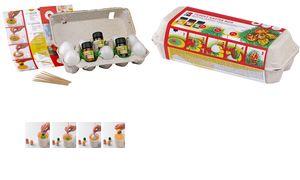 """Marabu Marmering Set """"Grappig PaComplete set in een eierdoos, 3"""