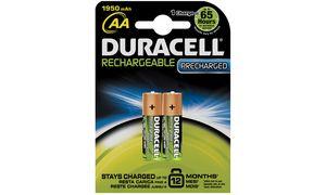 Duracell Precharged AA          Oplaadbare Batterijen - 2 stuks
