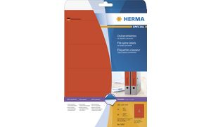 Restposten: HERMA Ordnerrcken-E**************** Umverpackung be