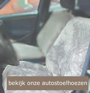Autostoelhoezen schapenvacht