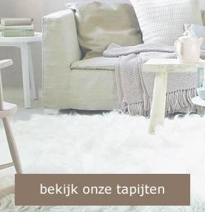Schapenvacht tapijten - hoogpolig tapijt wit