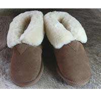 Pantoffels schapenvacht