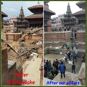 Veerkracht in Nepal!