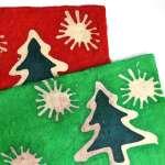Wax paper, Kerst afm 75x50 cm.