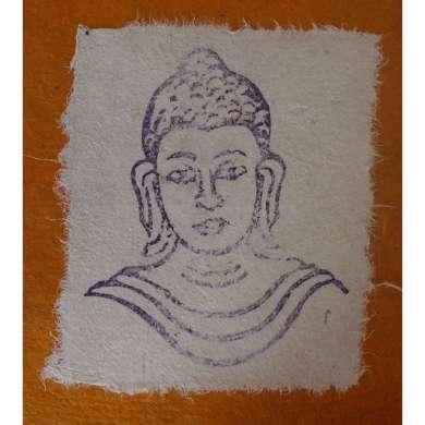 Stempel Boeddha Hoofd