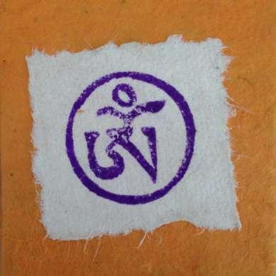 Stempel Tibetaans Ohm