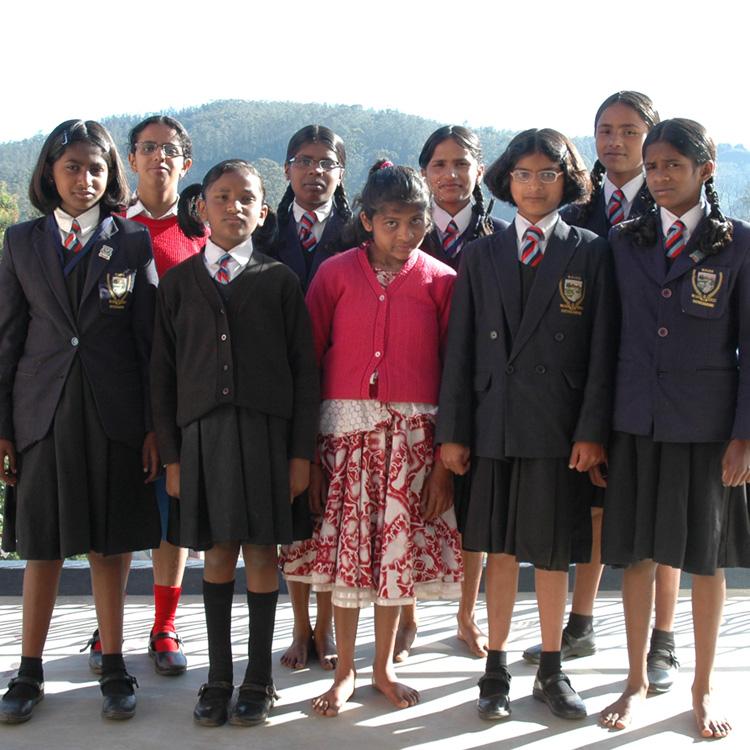 Opleiding voor meisjes in Zuid-India