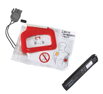 LIFEPAK CRPlus Elektroden+Batterij