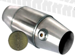 FIA Back End Catalisator tot 4000 CC