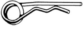 D11024 GLP BORGCLIP DUBB 4,5 (=4 MM)
