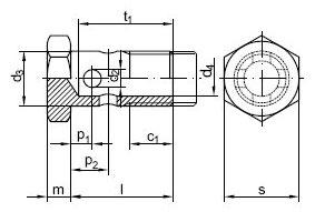 D7643 BANJOBOUT ST 4/5-3 M8X1