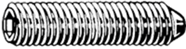 D914 RVS A4 STELS BZK KEG M10X12