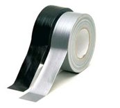 HPX Universele linnen duct tape - zilver 50mm x 50m