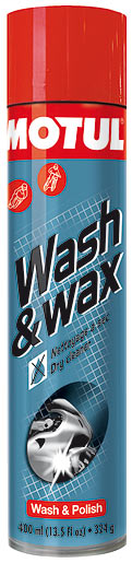 WASH & WAX FINISH 400 ML