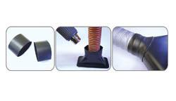 Krimpstukken tbv luchtslang ID 90mm, lengte 50mm