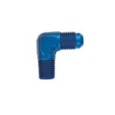 Aluminium 90° adapter male/male D03