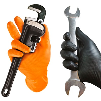 Grippaz 246 Nitril Werkplaats Handschoen 50 stuks MT9