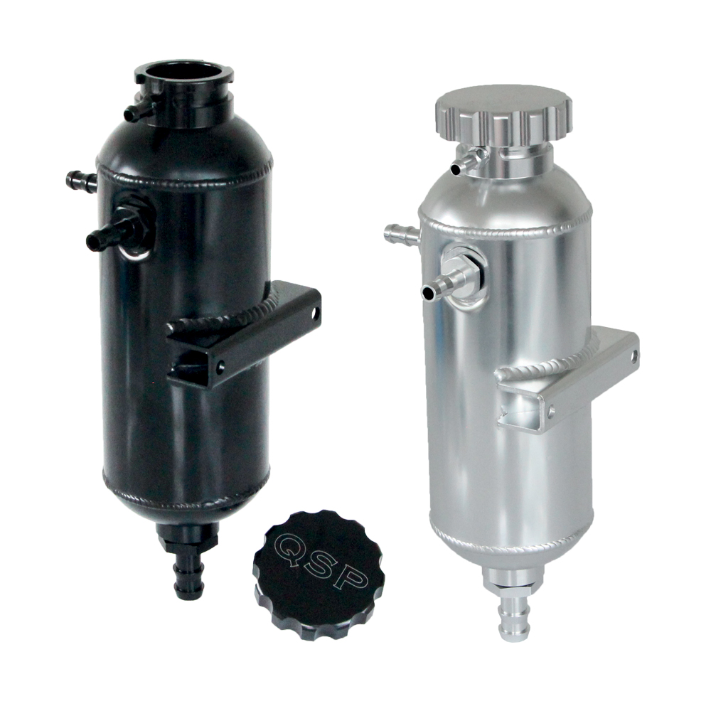 Aluminium Headertank Pro Series 0,75 ltr 2x D6 and 1x D8
