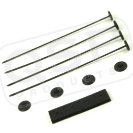 Mounting Kit Plastic Pins 4 pc