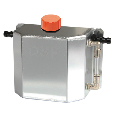 Aluminium Oil Catchtank Pro series 1 ltr incl breather cap