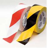 HPX Veiligheidsmarkeringstape - wit/rood 50mm x 33m