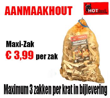 Maxi Zakken aanmaakhout