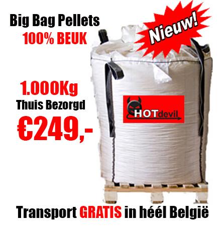1.000Kg DIN+ Pellets 100% BEUK