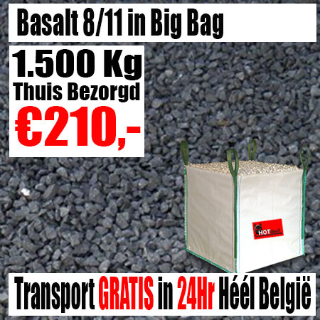 Basalt 8-11mm Big Bag 1.500Kg