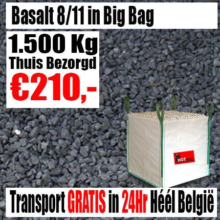 Basalt 8-11mm Big Bag 1.500Kg