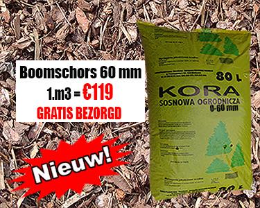 Boomschors Sylvestre 0-60mm