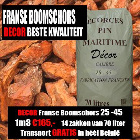 Décor Franse Boomschors 25-45mm