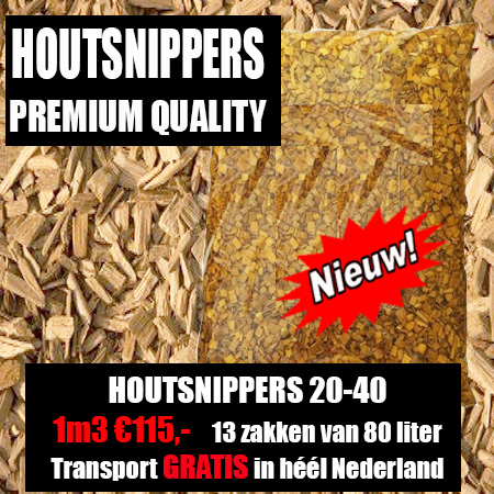 Deco Houtsnippers Tuin 20-40 mm