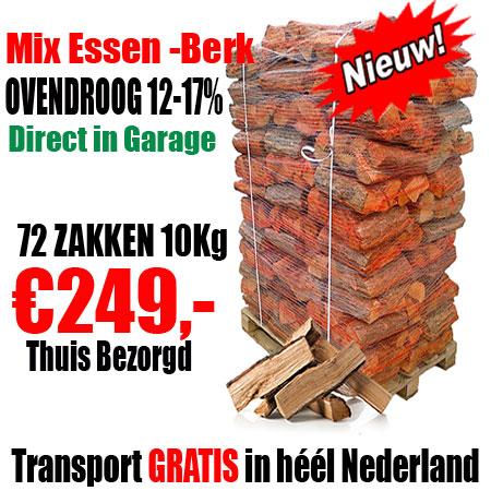 1 Pallet 72 zakken 10Kg  mix Essen - Berk