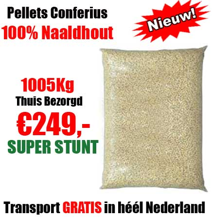 Pallet 1005Kg Naaldhout Pellets