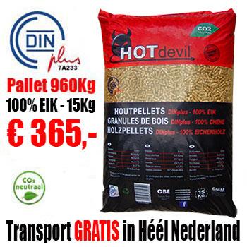 960Kg DIN+ Pellets 100% EIK