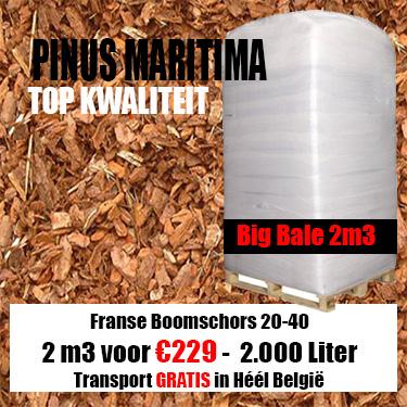 Franse schors Maritima Big Bale 20-40