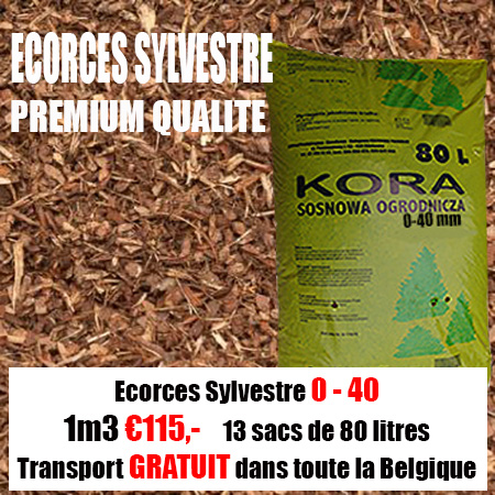 3,12 m3 Ecorce Sylvestre 20-40