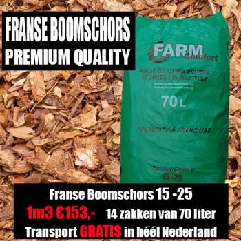Franse Boomschors Pinus Maritima 15-25mm