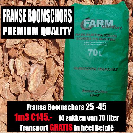 Franse Boomschors Pinus Maritima 25-45mm