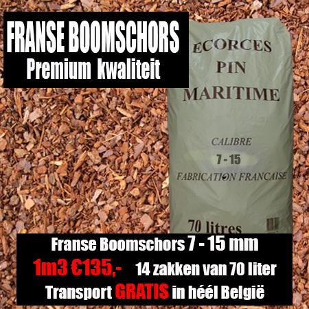 Franse Boomschors 7-15mm