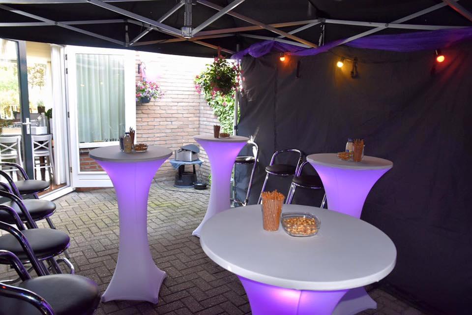 Statafel Kopen Utrecht.Partytent Easy Up Tent Vouwtent Statafels Lounge