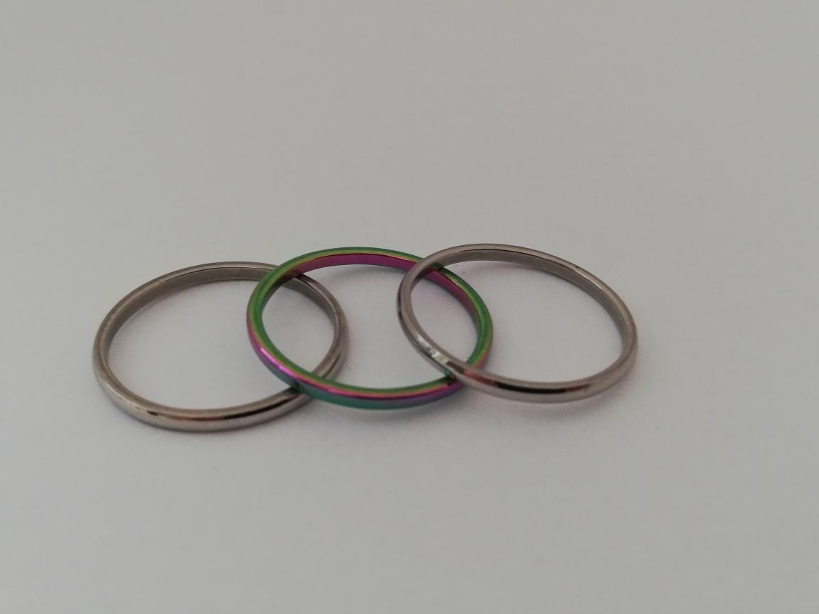 3 Ringen 1 met kleurtjes